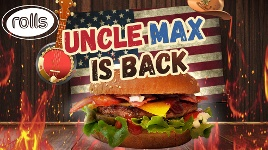Rolls Uncle Max is back!