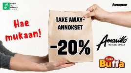 Amarillo Amarillon Take away -20 %