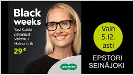 Specsavers Optikko Seinäjoki BLACK WEEKS